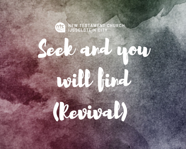 Sermon Seek and you will find (Revival)
