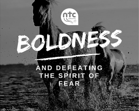 Konstant Hoogenboom Boldness and defeating the spirit of fear